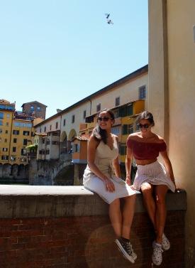 At the Ponte Vecchio