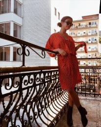 Dress: vintage Dior